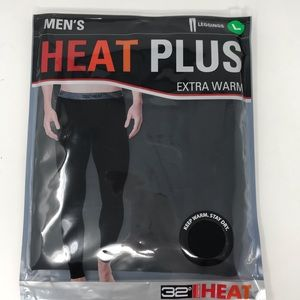 32 Degrees Heat Plus Mens Leggings Long Underwear